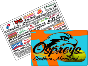 $10 USFundraising Softball Discount Cards