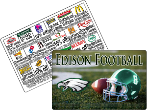 $15 USFundraising Football Discount Card